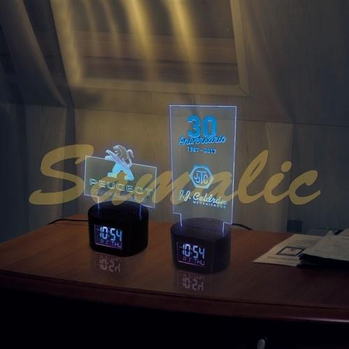 RELOJ LIGHT LOGO REGALO REF C309 CIFRA