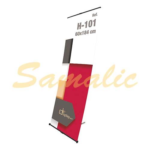 BANNER AJUSTABLE 60X184 CM PROMOCIONAL REF H101 CIFRA