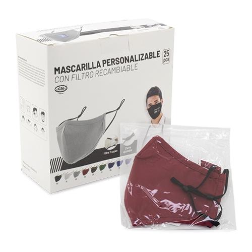 COMPRAR MASCARILLA CON FILTRO REUTILIZABLE GRAN CONFORT REF CV24 CIFRA