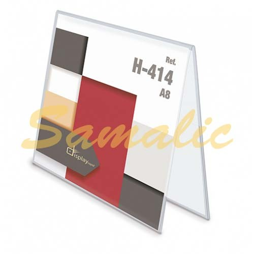 PORTAGRAFICA PVC DUO HORIZONTAL A8 REF H414 CIFRA