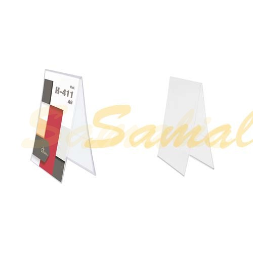 PORTAGRAFICA PVC DUO VERTICAL A9 ECONOMICO REF H411 CIFRA
