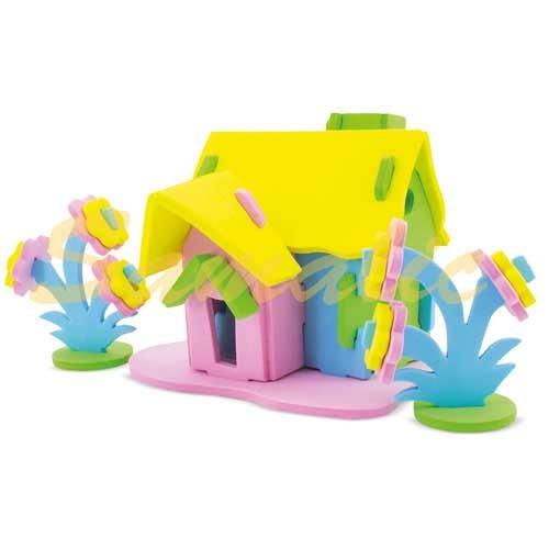 PUZZLE EVA HOUSE 1 PACK DE 5 UNIDADES REF Z879 CIFRA
