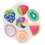 SET DE GOMAS FRESH FRUIT MERCHANDISING REF Z1017 CIFRA
